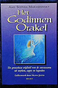 The Goddess Oracle, front cover